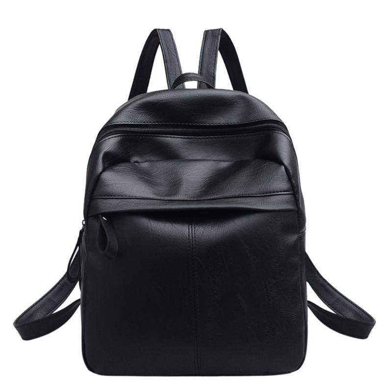c4df4dc18a Girls College office Bag womens leather Backpack Casual Stylish ...