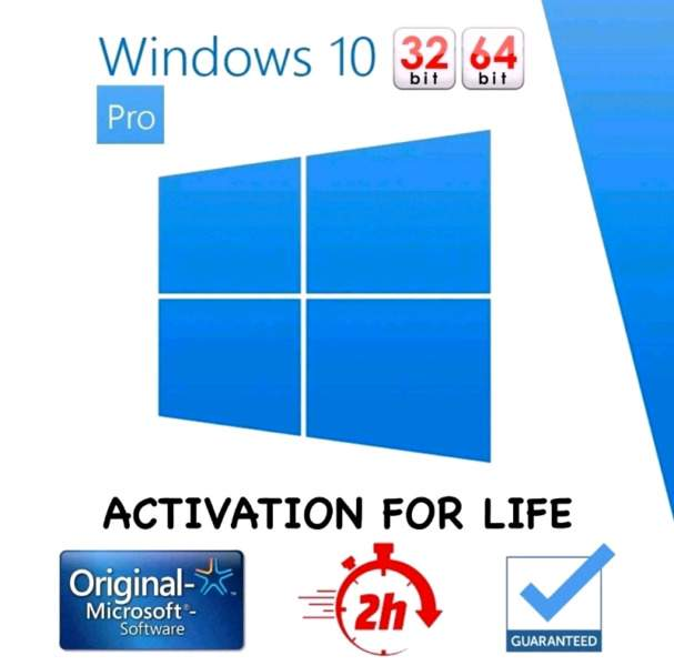 Windows 10 Professional Operating System   Product Licence Key