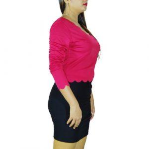 Stylish women crop top Girls Plain Tank V neck