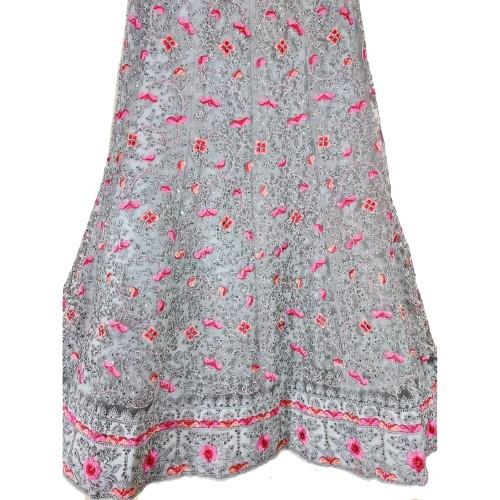 Cotton Silk Lehenga Resham Designer