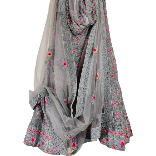 Cotton Silk Lehenga Resham