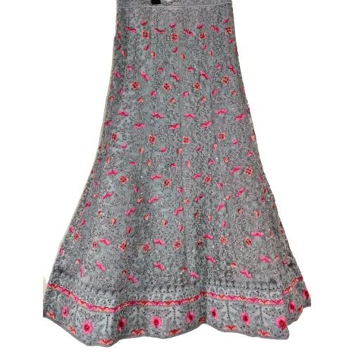 Cotton Silk Lehenga Resham Designer Heavy Embroidered work