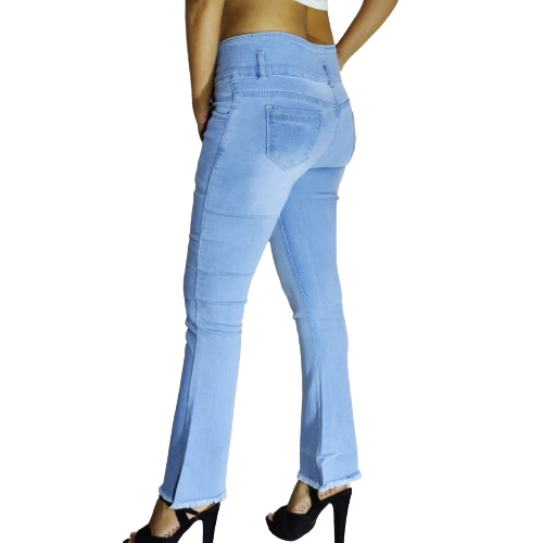 Women Bootcut Jeans High Rise Stretchable Slim Fit